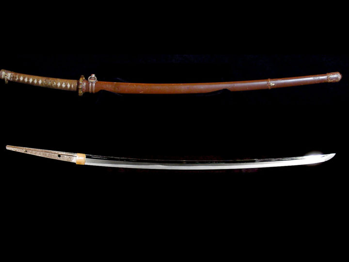 BEAUTIFUL KATANA BY NIDAI KANEMICHI 二代兼道  #000506