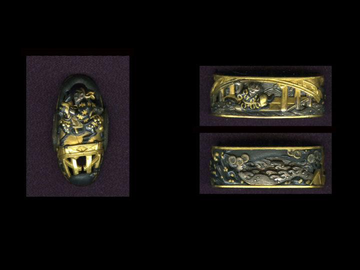 SUPERB KAGA GOTO FUCHI AND KASHIRA SET  #111216