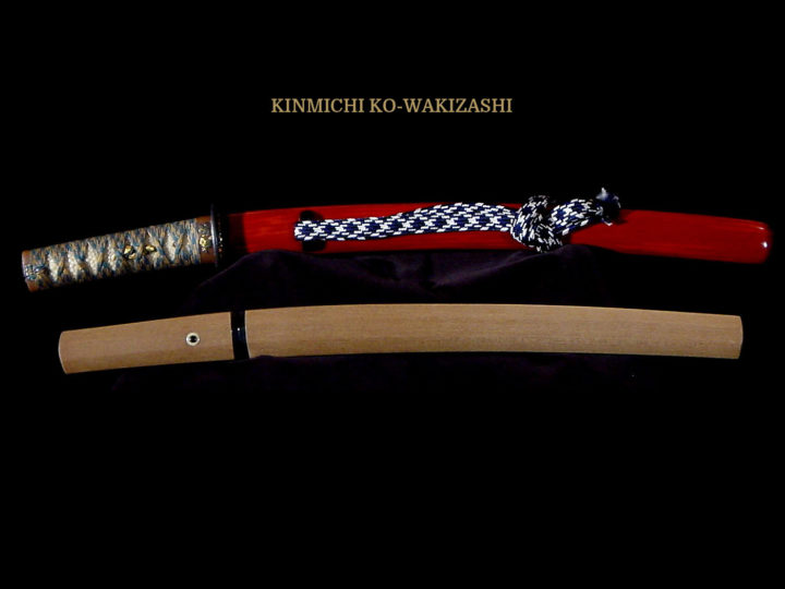 Ko-wakizashi by Kinmichi in outstanding original koshirae