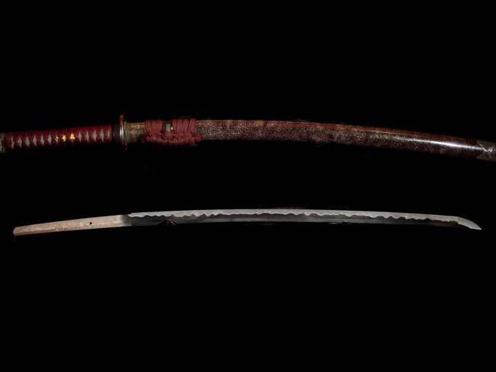 A POWERFUL KATANA BY YAMAURA YOSHINOBU  #110217