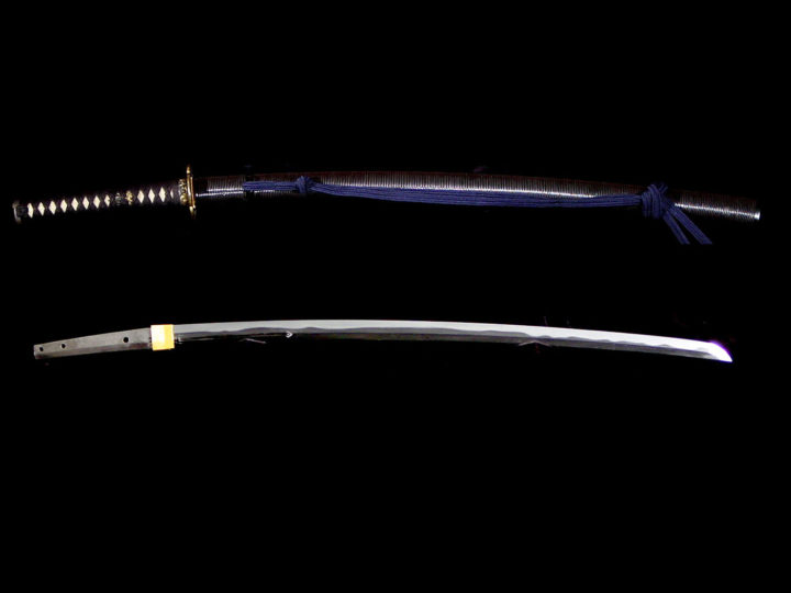 MOUNTED KATANA BY MUNEYUKI (統行)